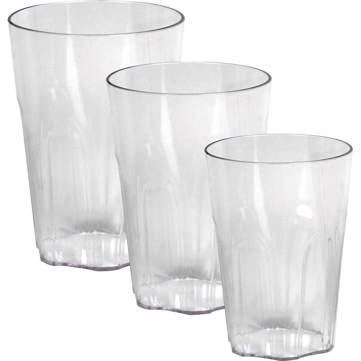 Glasserie Polycarbonat Weizenbierglas, 700 ml (2)