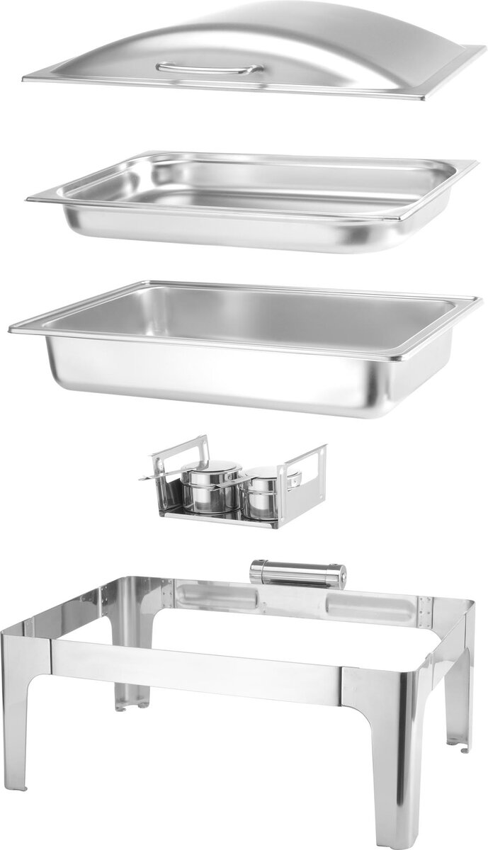 Chafing Dish 1/1 GN, Satiniert (3)