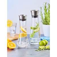 Glaskaraffe mit Ausgießer und integriertem Sieb 0,7 L (4)